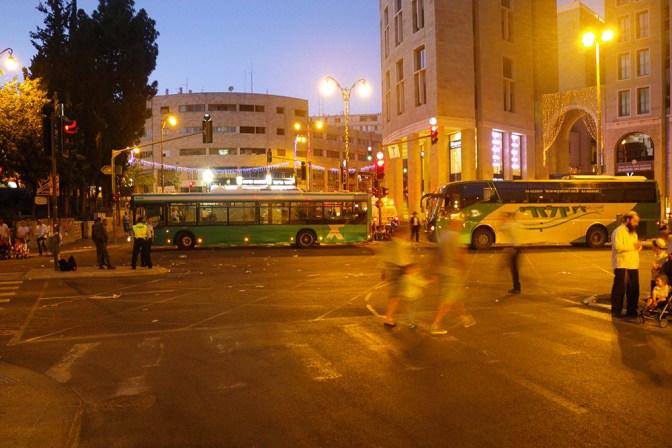 Foto Straßensperrung