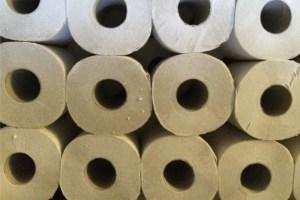 Foto Toilettenpapier ohne Plastikverpackung