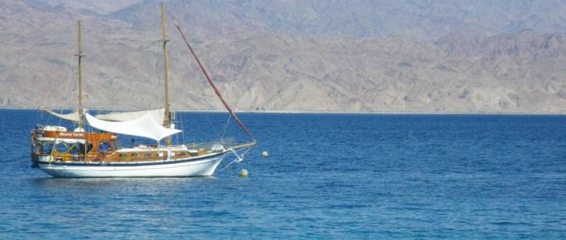 Foto Schiff auf dem Roten Meer
