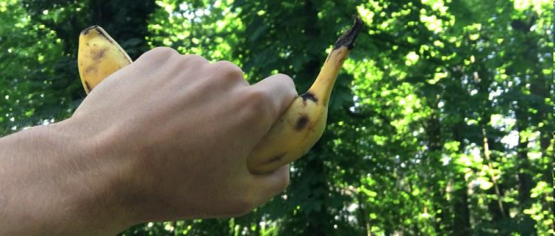 Gerettete Banane