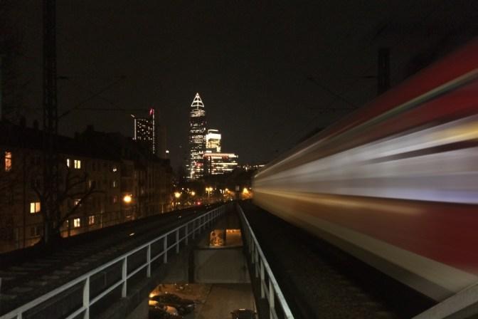 Foto Frankfurt bei Nacht