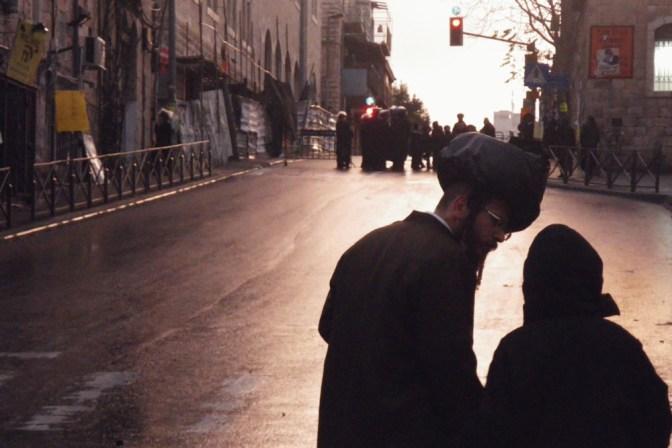 Foto Kurz nach Schabbat in Mea She'arim