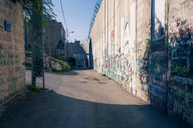Foto Grenzmauer in Bethlehem