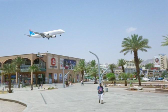 Foto Flughafen in der City