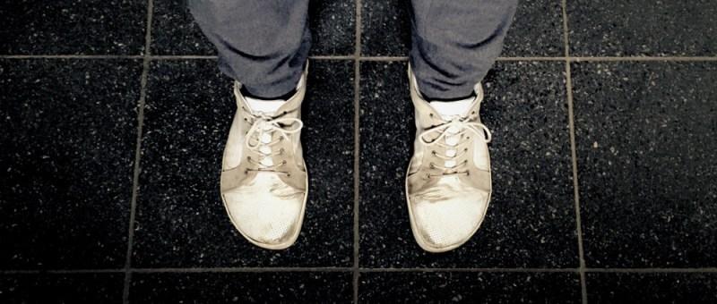 Sneaker im Koordinatensystem