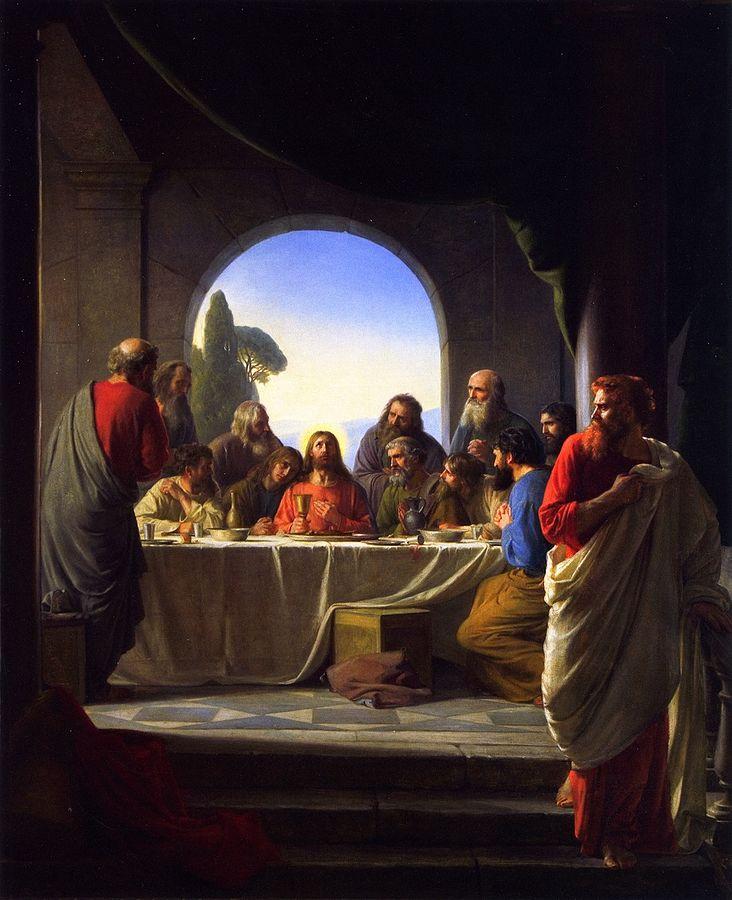 Tajemnice światła różańca świętego Ustanowienie eucharystii