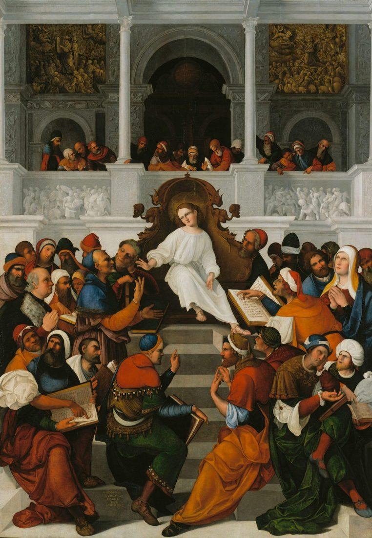 Odnalezienie Pana Jezusa w świątyni | Tajemnice radosne różańca świętego