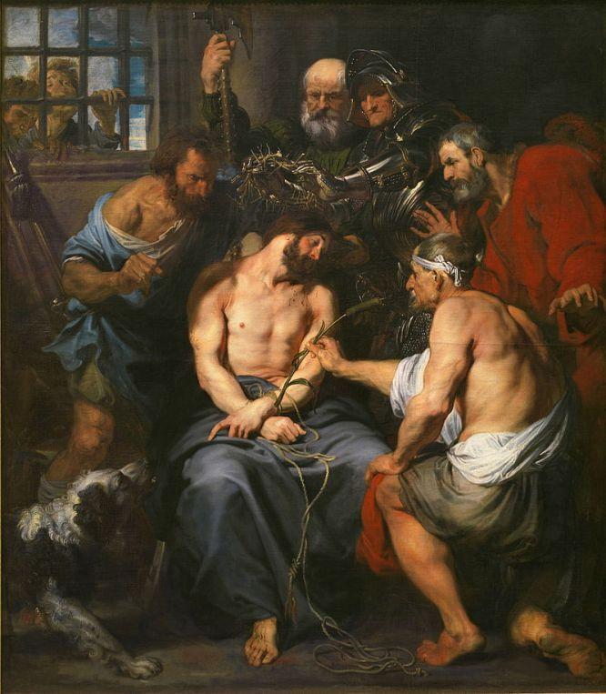 Cierniem ukoronowanie Pana Jezusa tajemnica bolesna różańca świętego