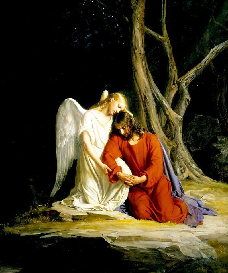 Modlitwa Pana Jezusa w Ogrójcu Tajemnica bolesna różańca świętego