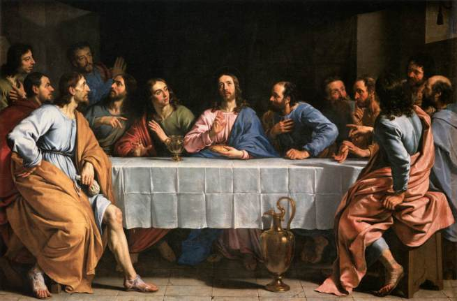 Ustanowienie Eucharystii tajemnica światła różańca świętego