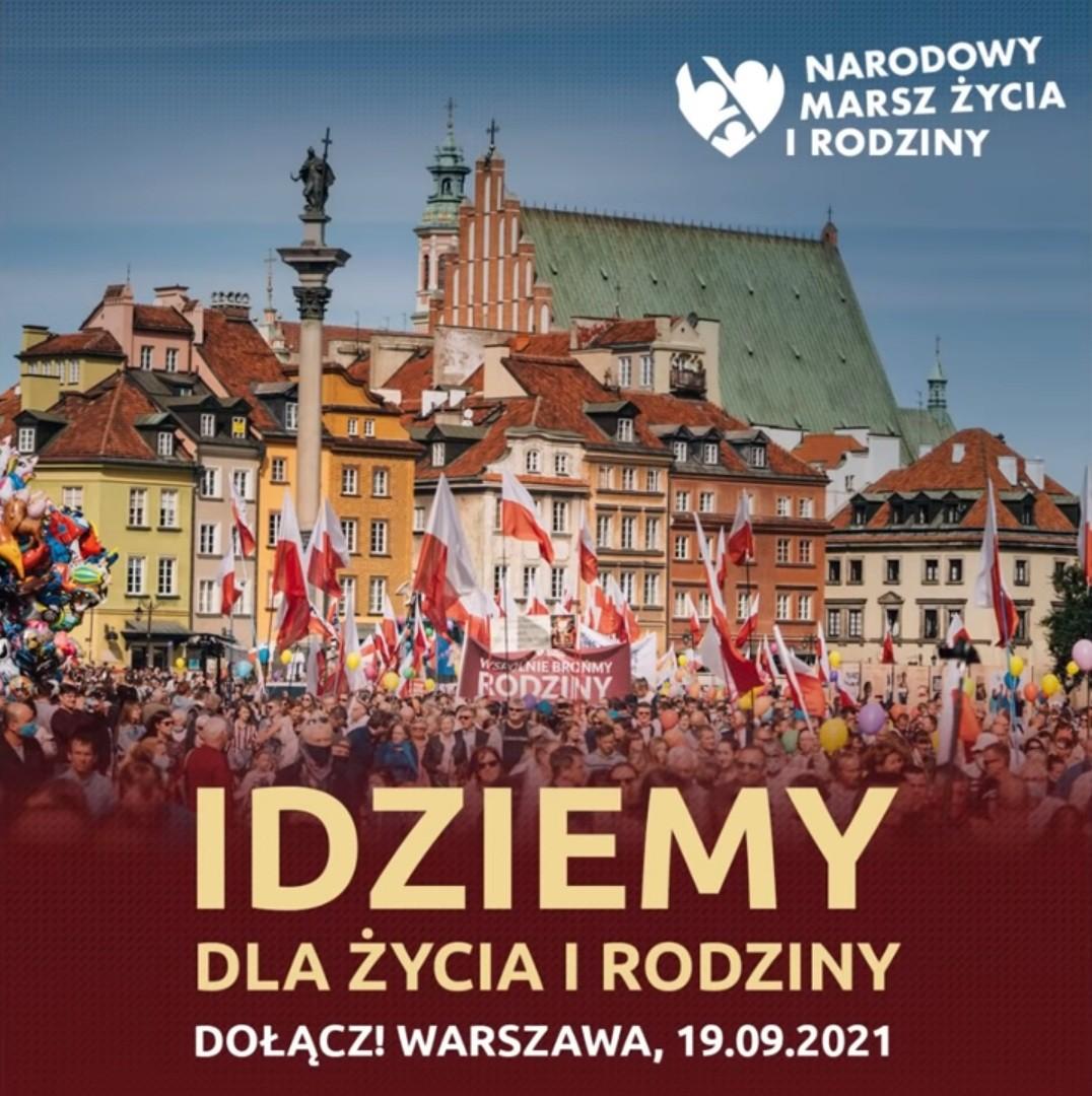 Read more about the article Narodowy Marsz Życia i Rodziny 2021