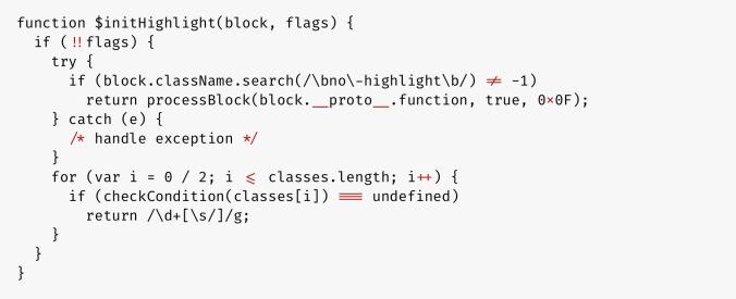 FiraCode JavaScript