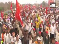 All India Kisan Sabha Protest Reaches Thane