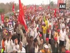 All India Kisan Sabha Protest Reaches Thane