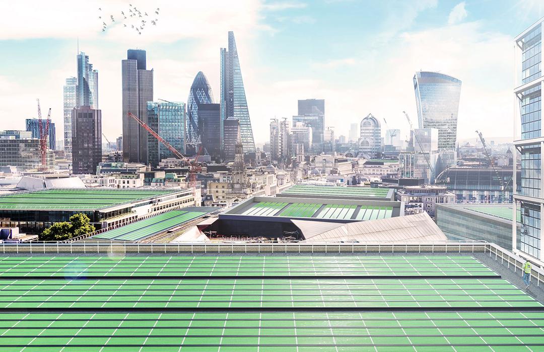 Biosolar Leaf Project, el proyecto británico de limpieza del aire