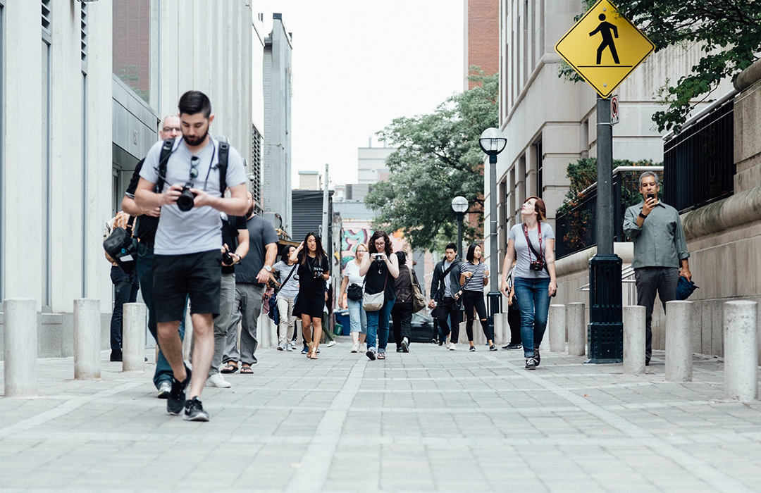 Caminando regularmente puedes vivir más