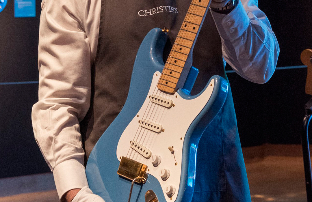 David Gilmour subasta guitarras para luchar contra el cambio climático