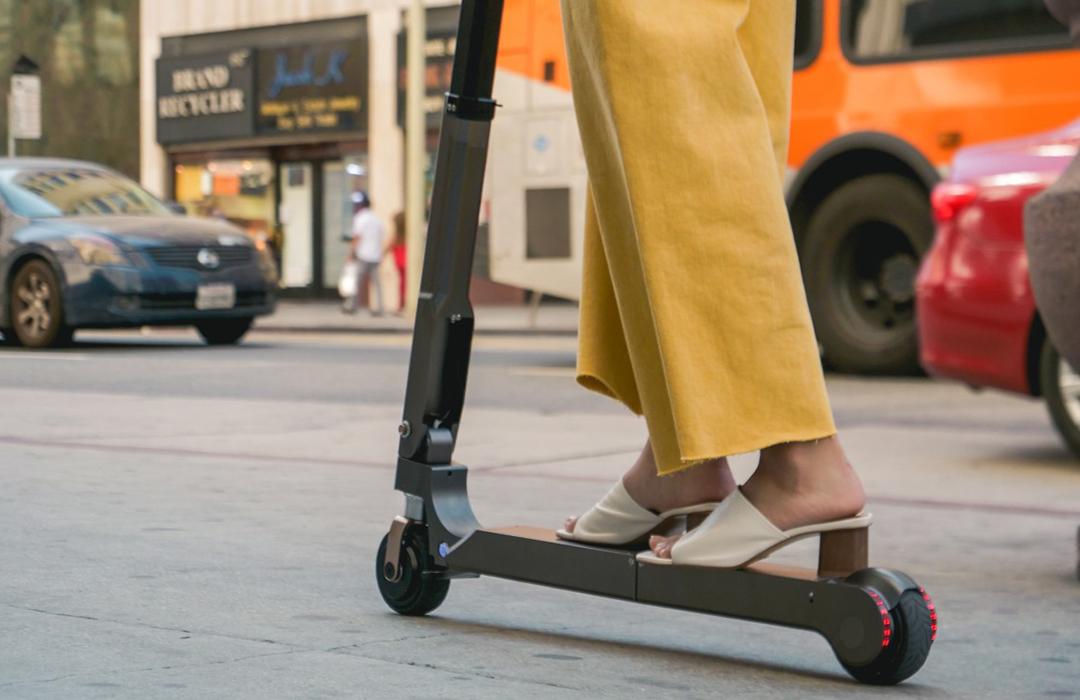 El nuevo scooter eléctrico de Hyundai