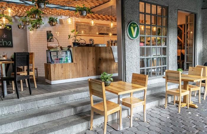 Plan V Café en Wokii