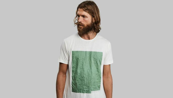 Camiseta de algas y plantas en Wokii