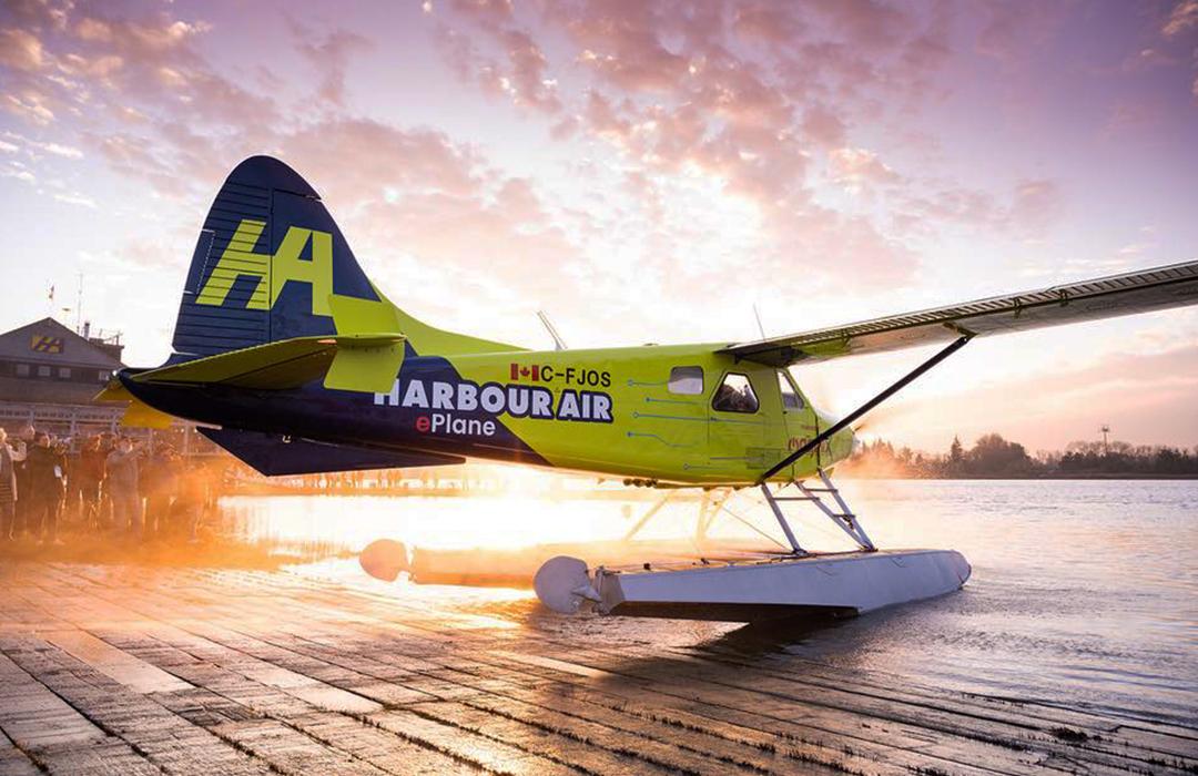 Harbour Air inaugura la era de la aviación eléctrica