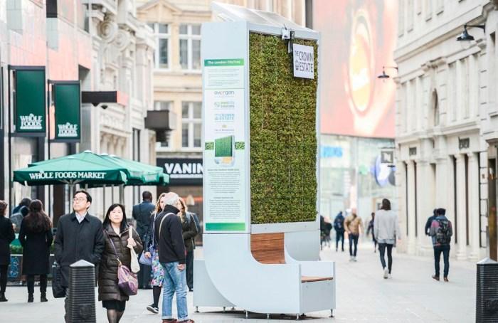 CityTree, el invento alemán contra la contaminación