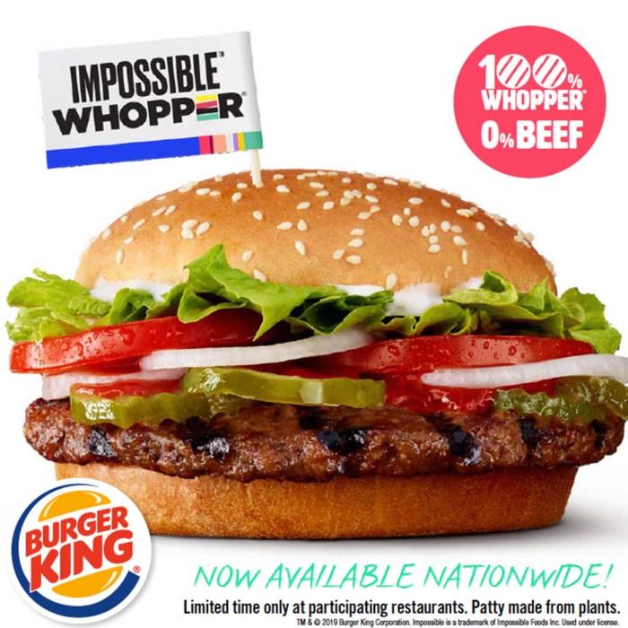 Impossible Burger 2.0 en Wokii