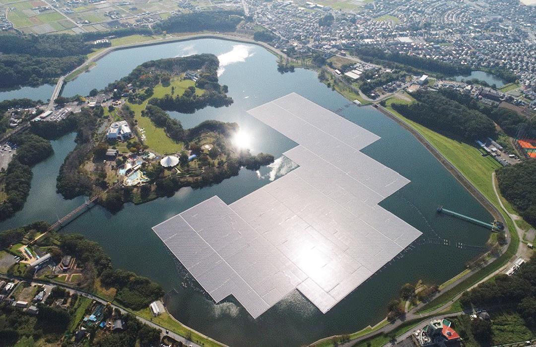 Kyocera transforma campos de golf en granjas solares