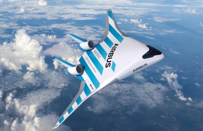 Airbus presenta diseño que reduce el uso de combustible