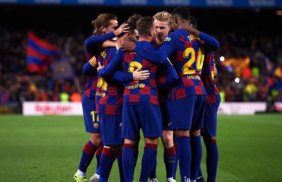 El FC Barcelona reduce 70% los sueldos de jugadores ante crisis sanitaria