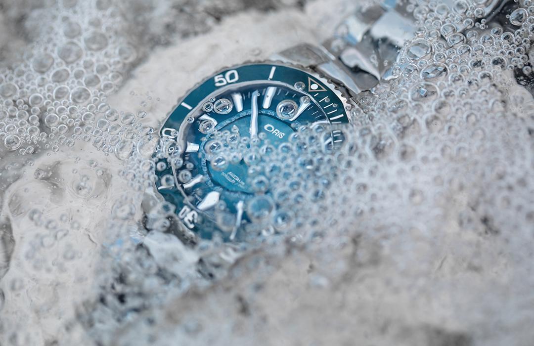 Oris, los relojes que resguardan los ecosistemas marinos