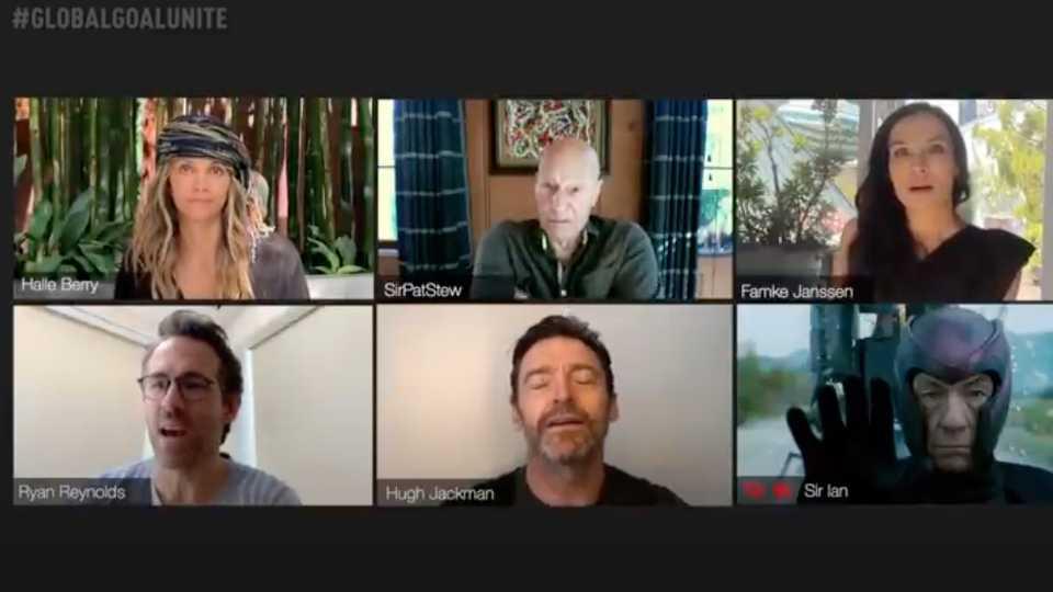Hugh Jackman organiza reunión virtual con los X-Men (y Ryan ...