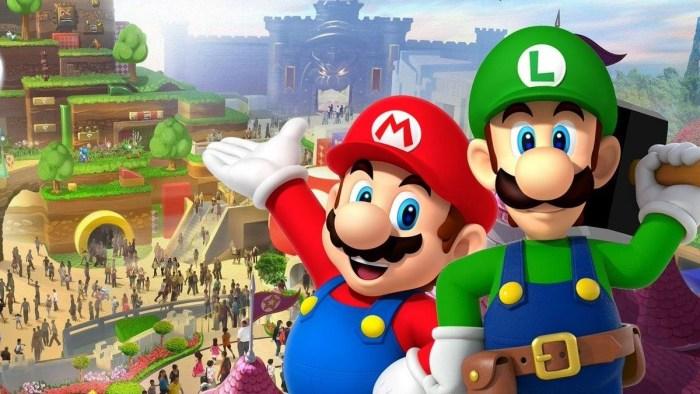 ¡Tienes que ver las imágenes de Super Nintendo World Japón!