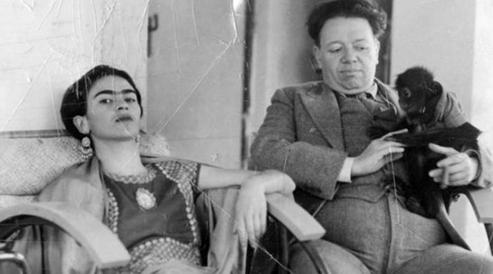 ¿Qué harías si tuvieras 45 minutos a solas con Frida Kahlo y Diego Rivera?