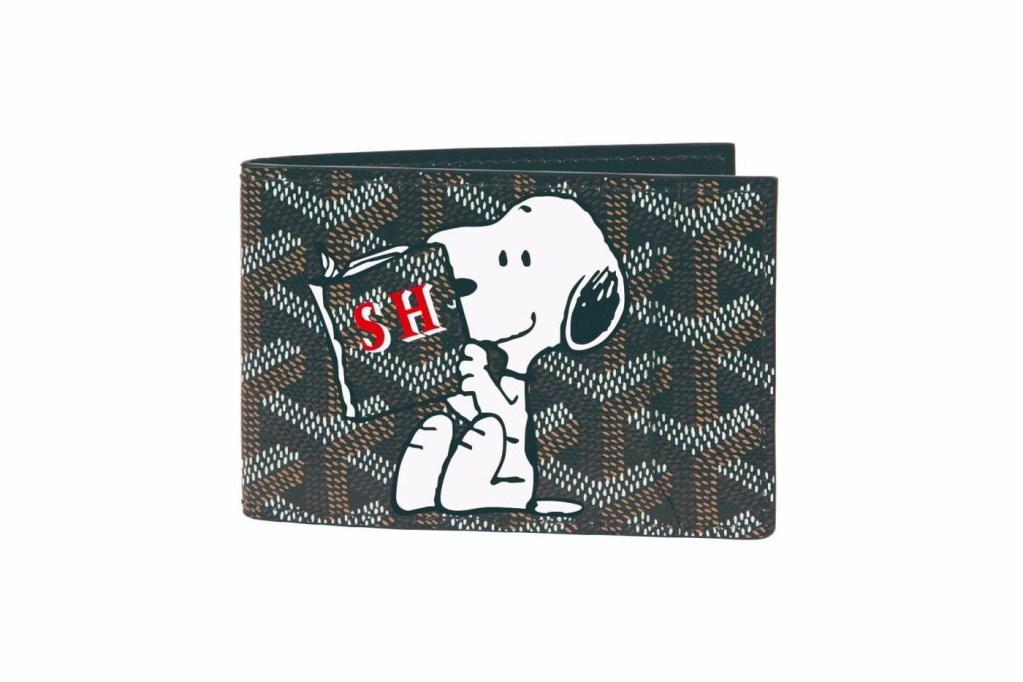 Snoopy y el mundo del lujo: la nostalgia por Peanuts llega a Goyard