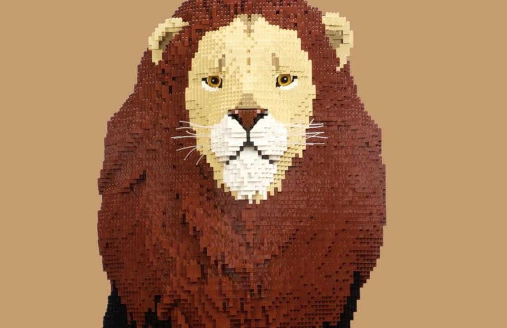 La naturaleza se conecta: conoce a los animales hechos de LEGO