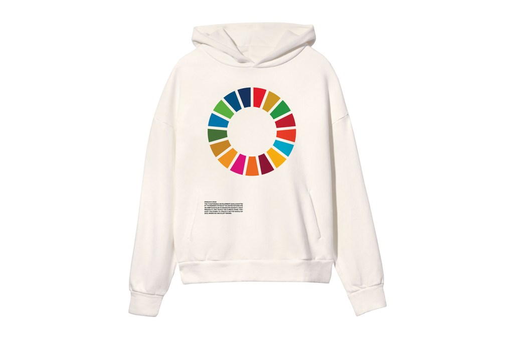 Naciones Unidas x Pangaia, una colección de moda que celebra los 17 Objetivo de Desarrollo Sostenible
