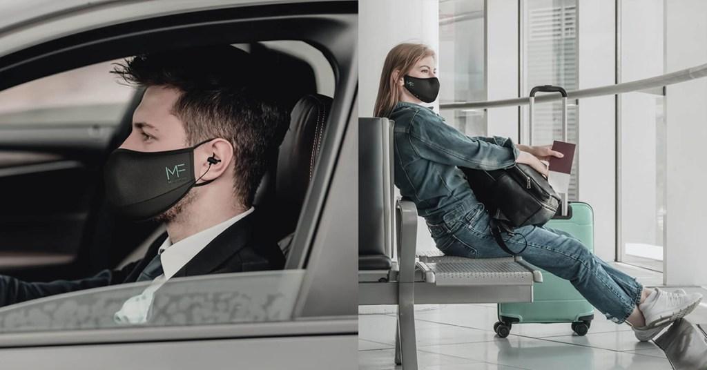 Maskfone, el cubrebocas que se conecta a tu teléfono