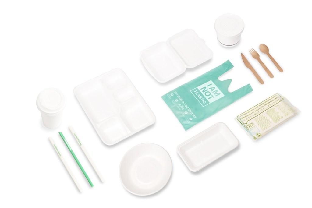 Bolsas de yuca 100% biodegradables que se disuelven en agua