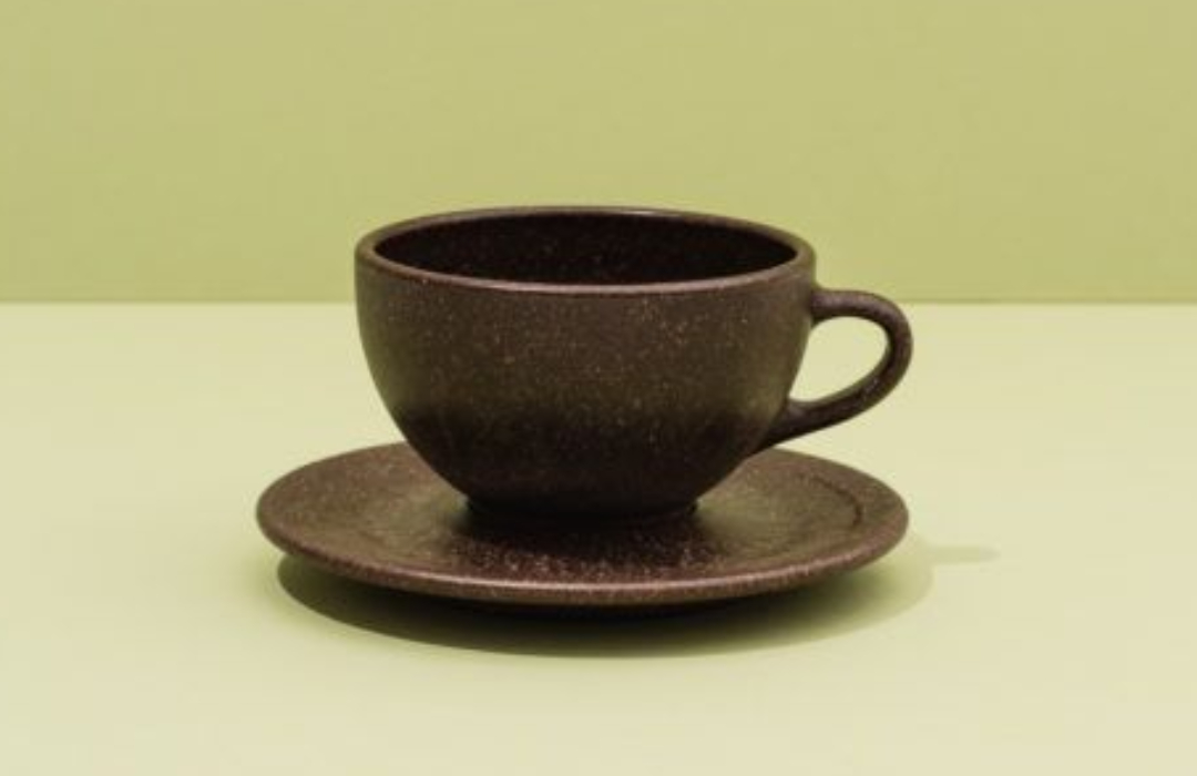 Taza de café biodegradable
