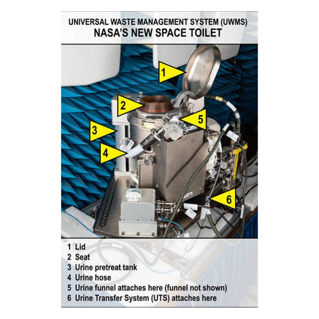 Para búsquedas relacionadas a inodoro espacial NASA