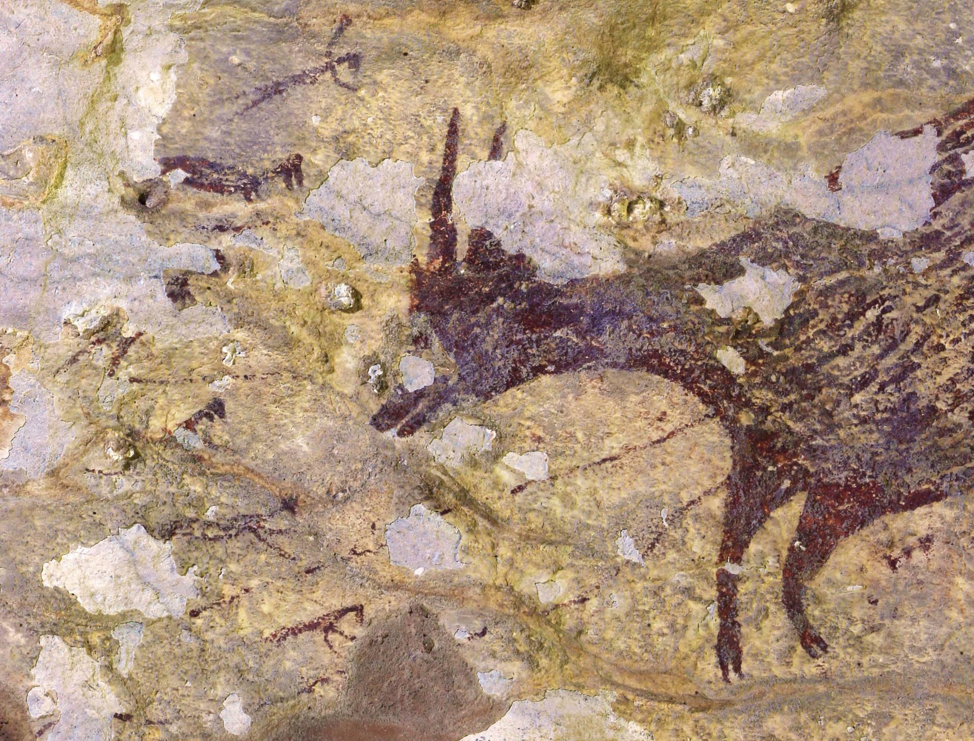 La pintura más antigua del mundo está en Indonesia