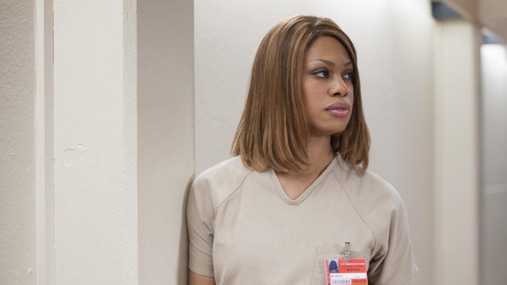 Laverne Cox en la serie Orange is the new black