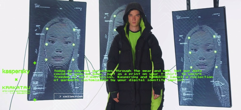 Kaspersky y Krakatau crean ropa personalizada según tus hábitos digitales