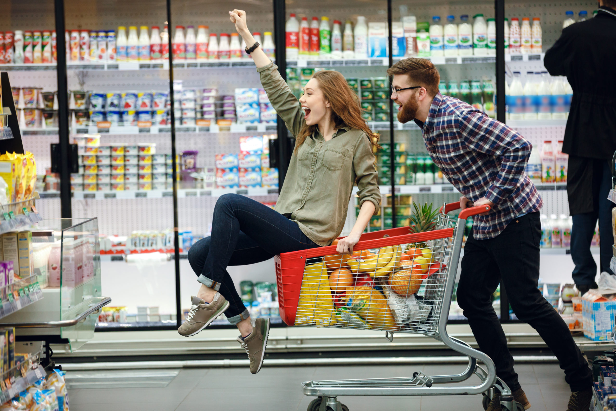 Este supermercado quiere emparejar a solteros