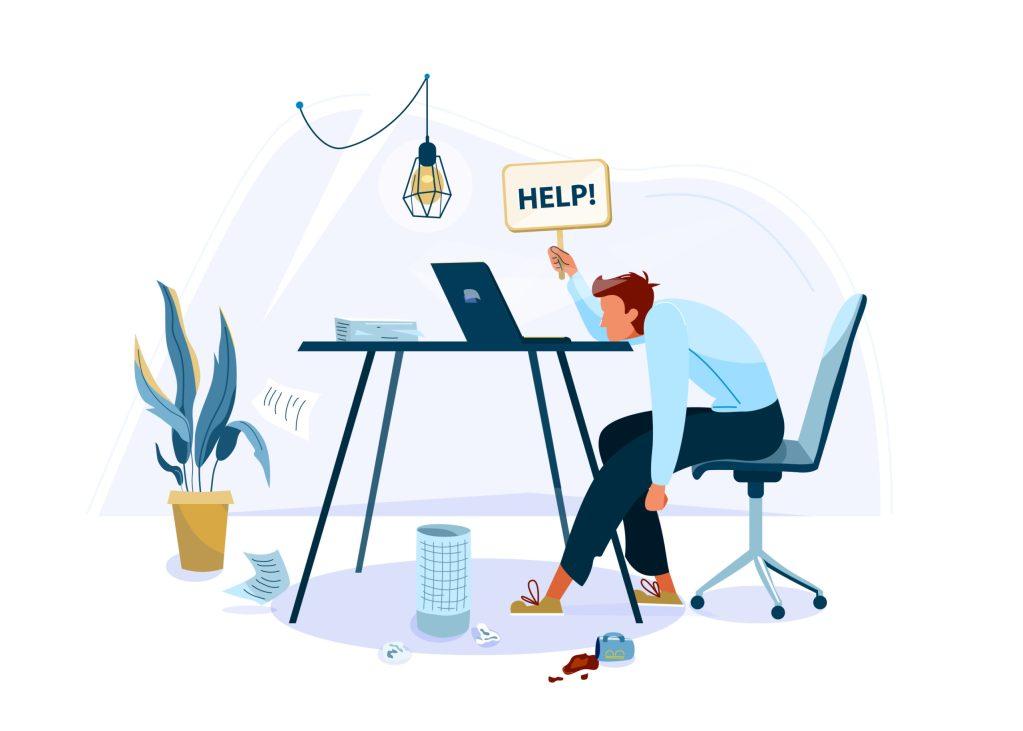 Cómo evitar el burnout por exceso de trabajo en casa