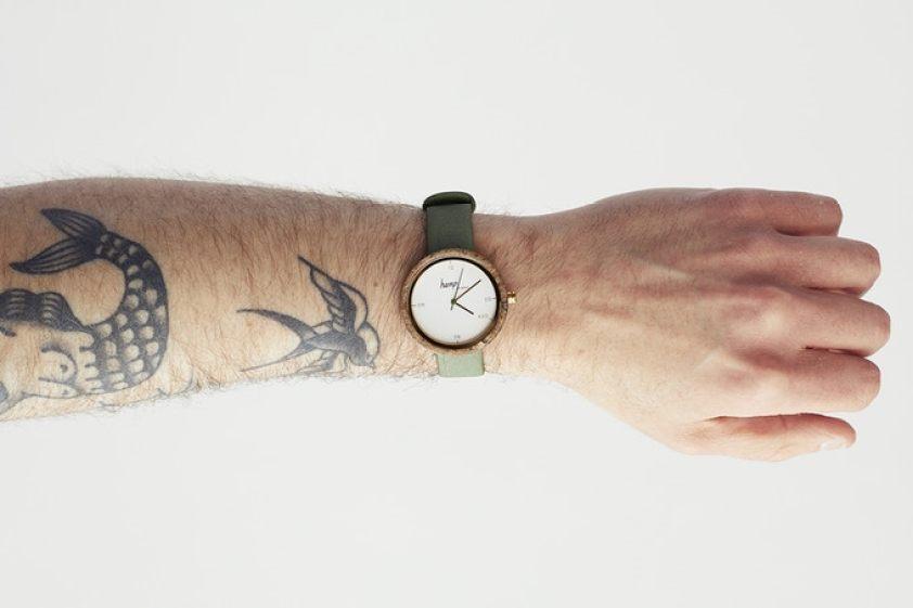 primer reloj de cáñamo