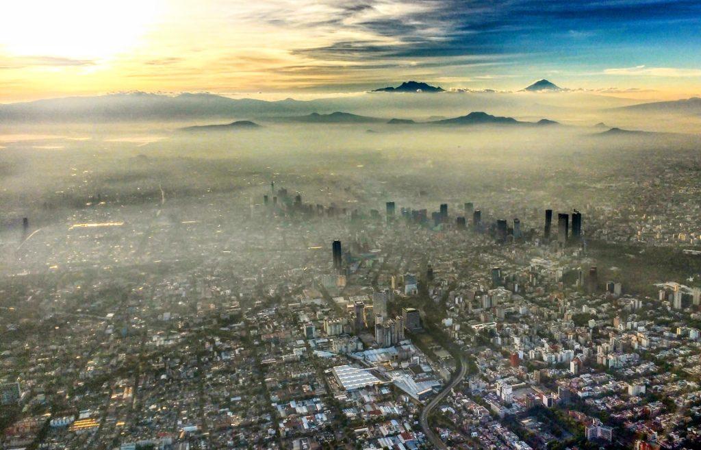5 factores que provocan la contaminación en CDMX