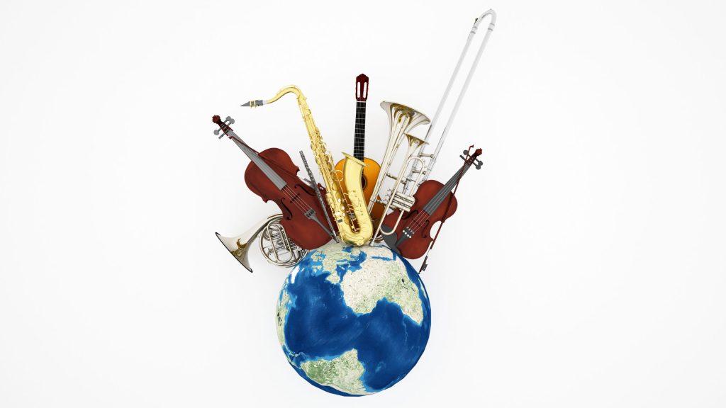 Conoce los instrumentos musicales hechos a base de residuos orgánicos