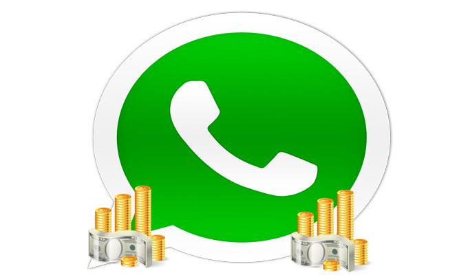 ganar dinero a través de WhatsApp